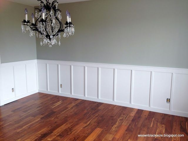 71 best living room paint ideas images on pinterest for for Dining room wainscoting ideas