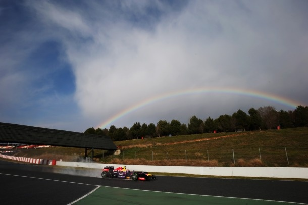 F1: Barcelona Day One - Webber On Top For Red Bull http://RacingNewsNetwork.com/2013/02/28/f1-barcelona-day-one-webber-on-top-for-red-bull/