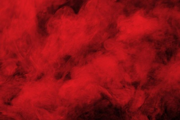 Abstract Red Smoke On Black Background Red Smoke Red And Black Background Dark Red Background