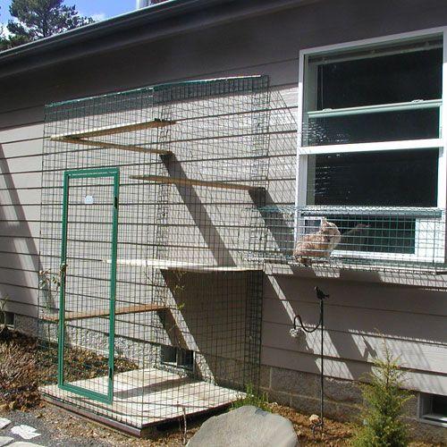 USA Cat Enclosures » Home of Habitat Haven