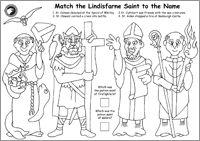 Northumbrian Saint Identification Sheet