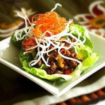 Pei Wei Recipes several Asian dishes including lettuce wraps, Kung Pao, Pad Thai, Sesame Chicken,
