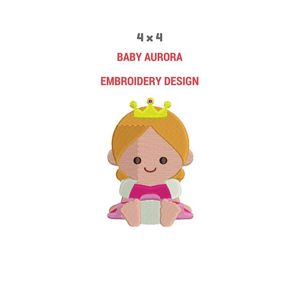 10 Best Disney Baby Princess Embroidery Designs Images On Pinterest