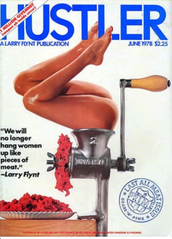 1978 Hustler Cover Art