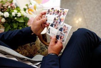 Karolina i Konrad zaprosili fotobudkę na swoje wesele... Zdjęcia w innym formacie :)