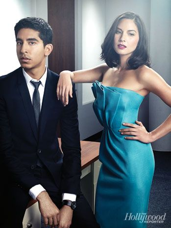 'The Newsroom': Exclusive Photos of Aaron Sorkin and the HBO Cast: Dev Patel and Olivia Munn