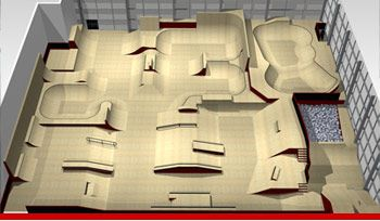 Skate park, Indoor and Design your own on Pinterest