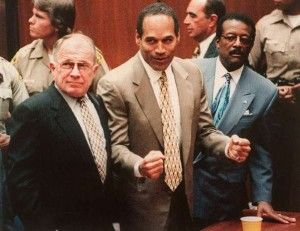 OJ Simpson was charged with the twin murders of Nicole Brown Simpson and Ronald Goldman in 1994