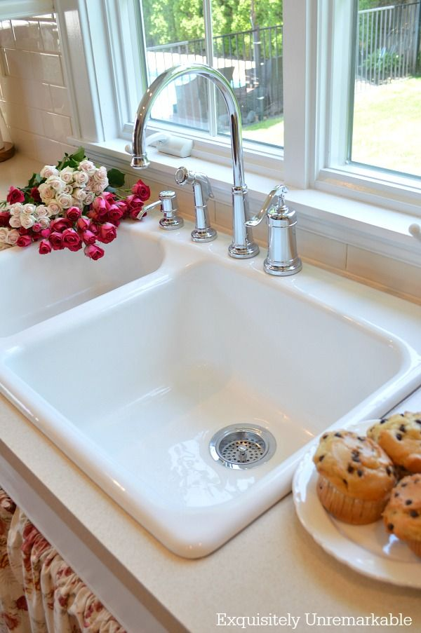 How Much Is A Farmhouse Sink.The Best Way To Clean A White Porcelain Or Stainless Sink