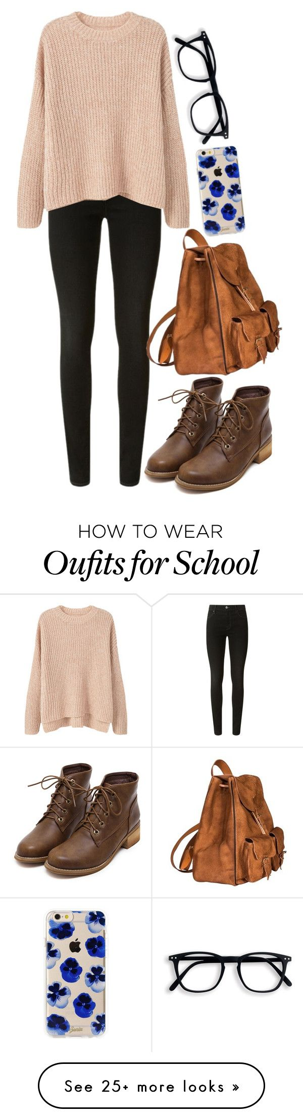 """Guys it's like 5AM and I have school tomorrow 0-o I swear I have self-induced insomnia or something."" by slightly-invisible on Polyvore featuring J Brand, MANGO, Yves Saint Laurent and Sonix"