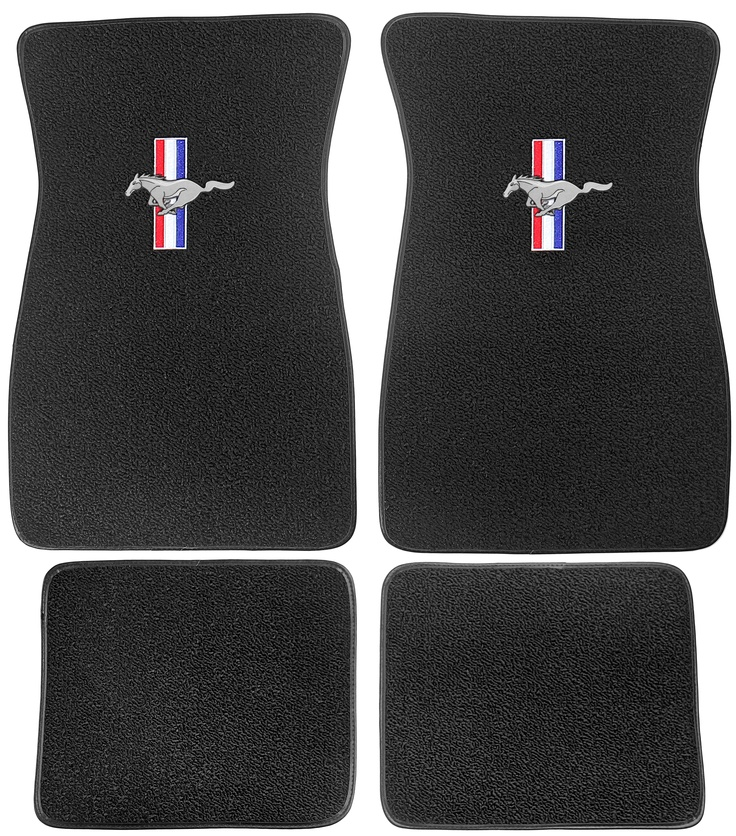 Protect that new carpet you just installed or freshen up your #Mustang interior with a set of floor mats. Available in original style colors. Sold as a set of four [CLICK]