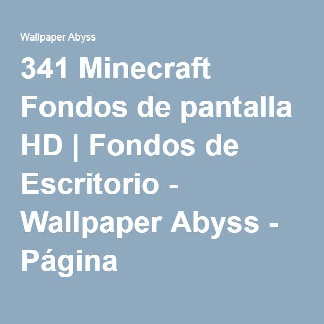 341 Minecraft Fondos de pantalla HD | Fondos de Escritorio - Wallpaper Abyss - Página 4
