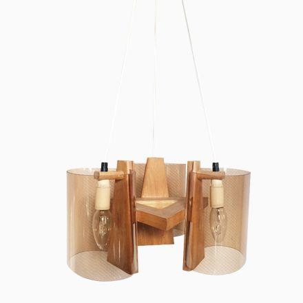 Beautiful Skandinavische Plexiglas u Holz H ngelampe er Jetzt bestellen unter https moebel ladendirekt de lampen deckenleuchten deckenlampen uid udc