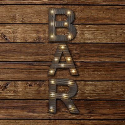 Buy BAR LED Marquee Sign from Bed Bath & Beyond