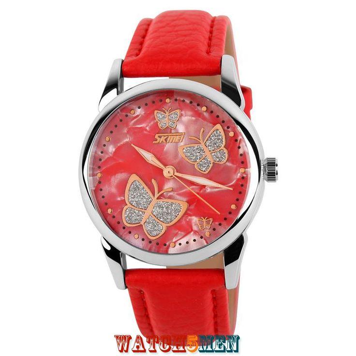 Женские+наручные+часы+Skmei+Fashion+Elegant+Red+для+девушек+любящих+каждый+день+удивлять+окружающих+своим+неповторимым+образом…