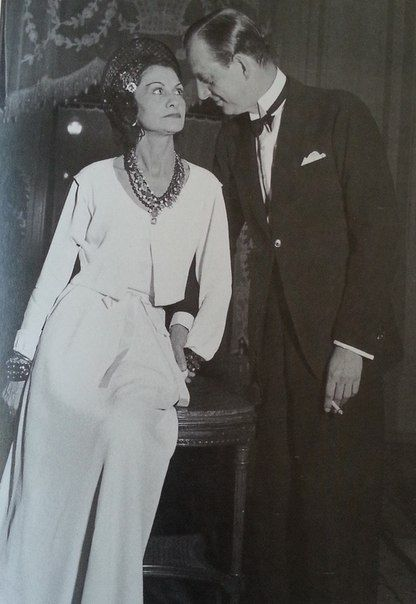 GD Dimitri with one-time paramour Coco Chanel. He eventually married an American heiress.