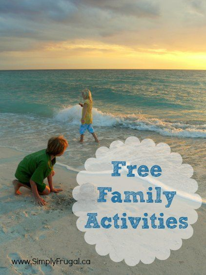 Family fun doesn't always have to cost money.  There are plenty of activities you can try together that are just as fun, or even more fun, than activities that require cash.