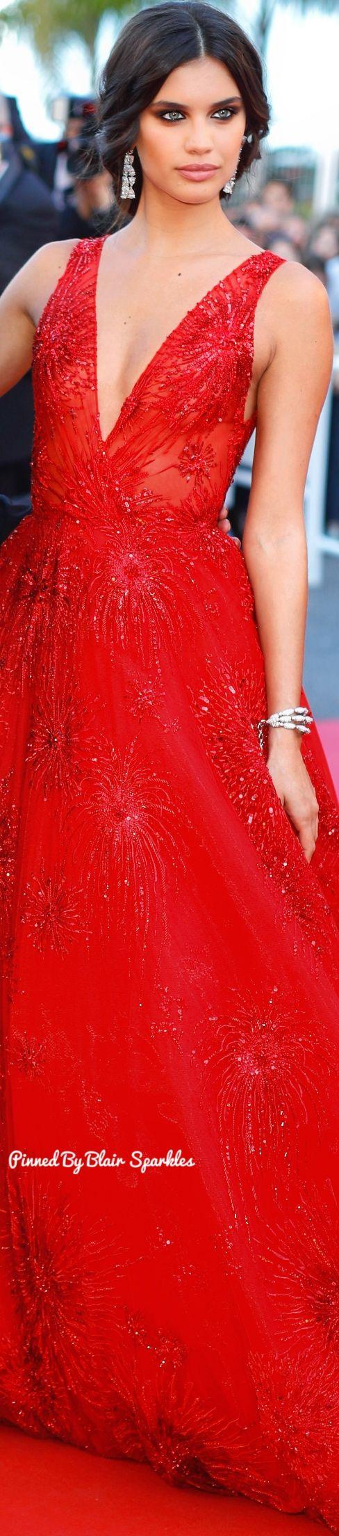 Sara Sampaio at Cannes 2017 ♕♚εїз | BLAIR SPARKLES |