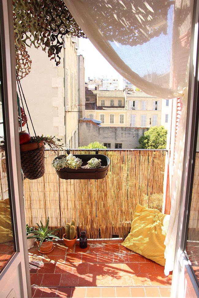 Mon Balcon Marseillais D Co Petit Balcon Petits Balcons