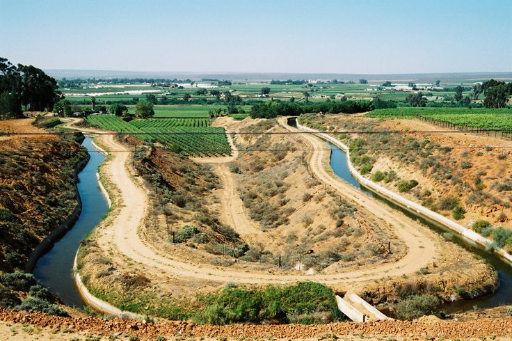 Agriculture forms an important part of our region. This Canal system provides water for all
