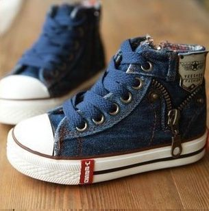 Handsome & Divine stock these funky denim look sneakers too. Find Handsome & Divine on Facebook