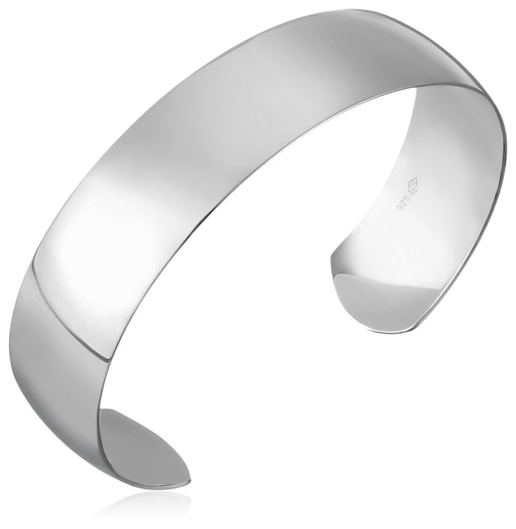 Sterling Silver Polished Cuff Bracelet *** See this awesome product @ http://www.amazon.com/gp/product/B003H9LGP4/?tag=jewelry163-20&ppq=220716040329