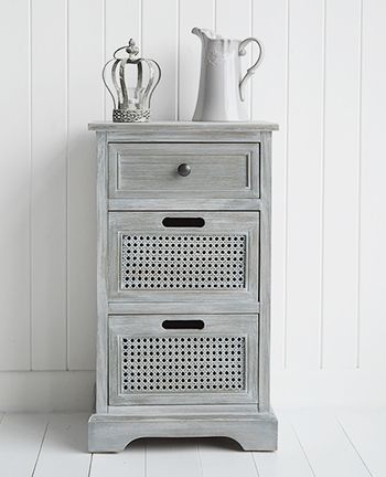British Colonial Furniture   Grey Lamp Table With Drawers. Shabby  Chic,Coastal, French,Scandi, Danish And New England Styles From The White  Lighthouse Part 86