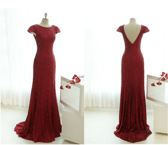 Hey, I found this really awesome Etsy listing at https://www.etsy.com/listing/167535078/red-sequin-dress-long-red-sequin-dress