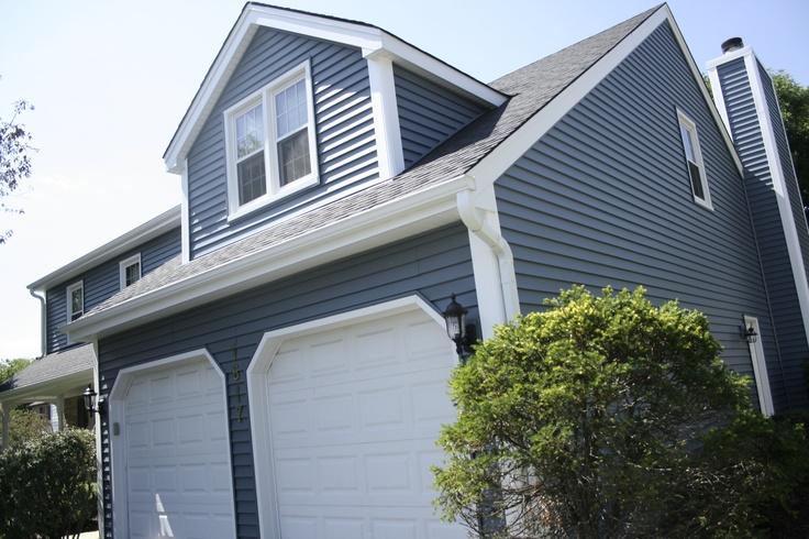 Best Harbor Blue Charter Oak Lap Siding Fantastic Homes 400 x 300