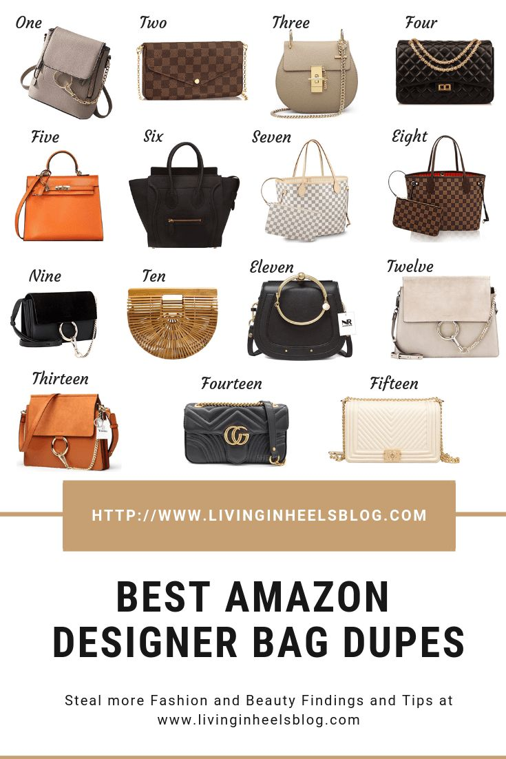 Best Amazon Designer Bag Dupes