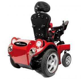E-Rollstuhl Haflinger (elektrische kinderrolstoel, Elektrische Binnen-Buiten Rolstoel Electric Indoor-Outdoor Wheelchair for children)