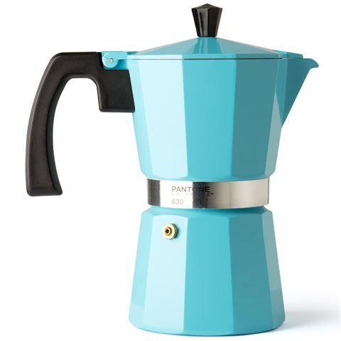 Pantone - Stovetop Coffee Maker 6 Cup Retro Blue
