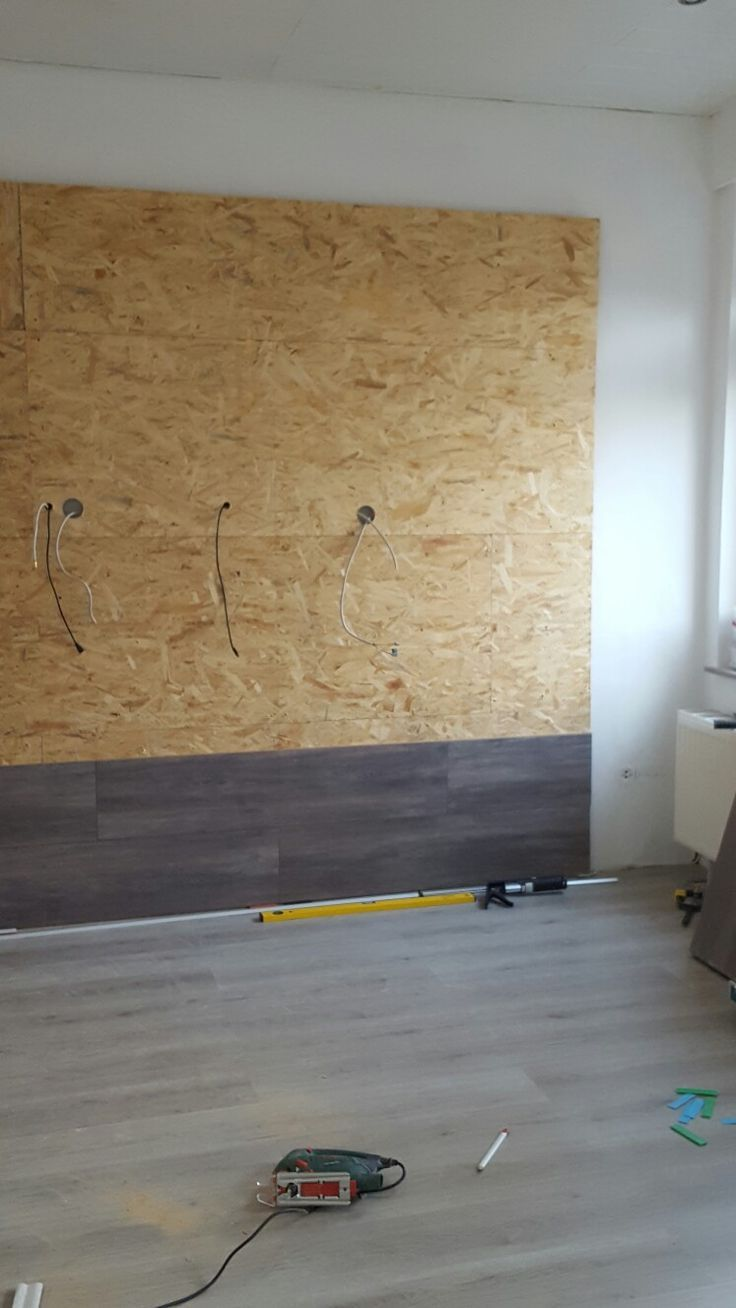 Tv Wand Holz Laminat Selbst Gemacht My Blog Wall Decor Living Room Tv Wall Design Kids Room Lighting