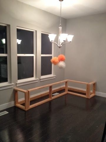 1000 Images About Diy Breakfast Nook Bench On Pinterest