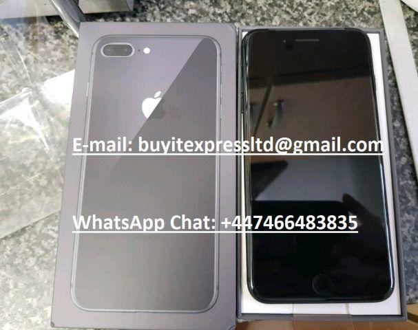Apple iPhone 8 64GB - 450 EUR e Apple iPhone 8 Plus 64GB - 480 Euro, Siamo grossista di telefoni cellulari. abbiamo negozio nel Regno Unito e Sud Africa. Consegniamo in tutti i paesi attraverso corrieri Fedex e DHL e la consegna è gratuita a tutti i nostri clienti. Il tempo di attesa di consegna ric...