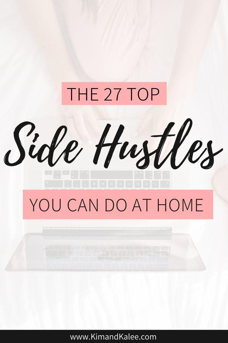27 Best Side Hustle Ideas & Jobs