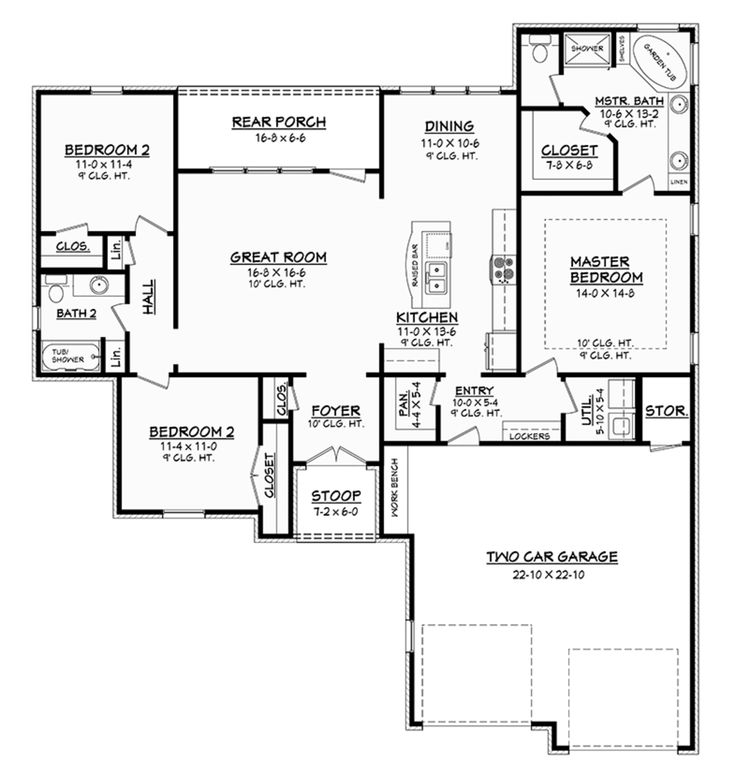 13 best 1500 sq ft plans images on pinterest for 1500 sq ft country house plans