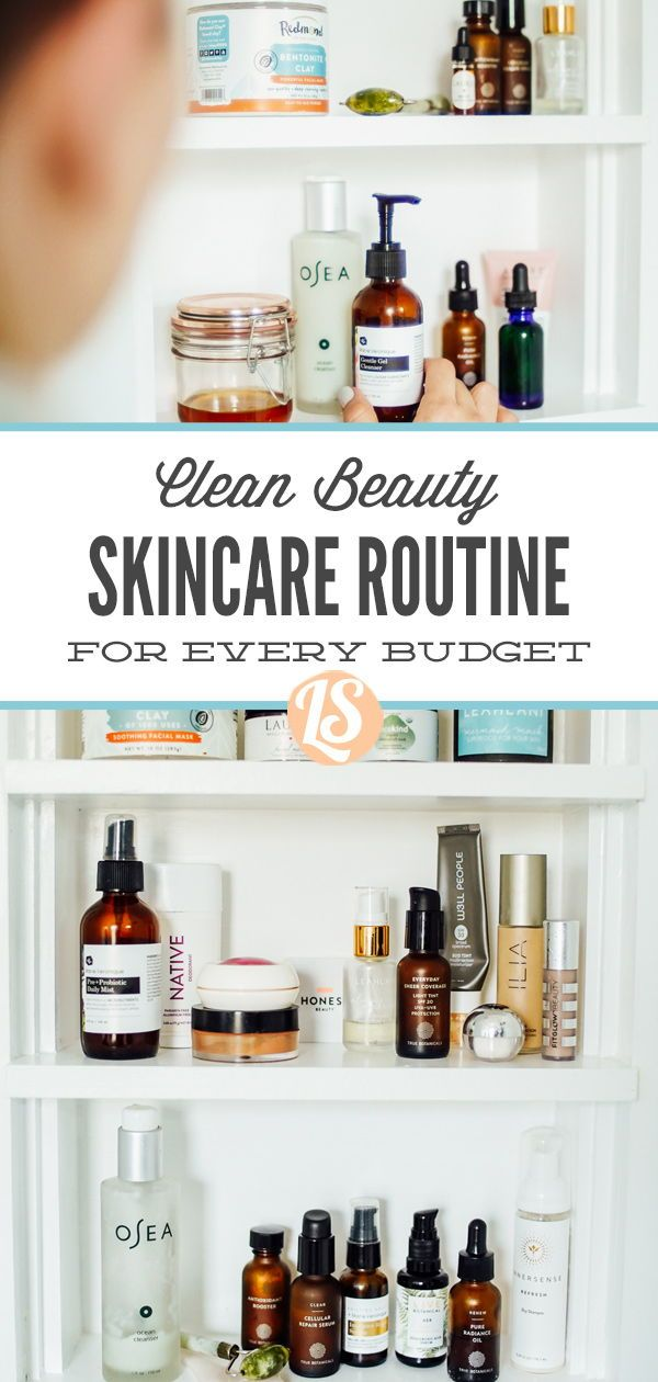How To Create Your Own Non Toxic Skincare Routine On Any Budget Live Simply In 2020 Clean Beauty Natural Skin Care Routine Skin Care Routine