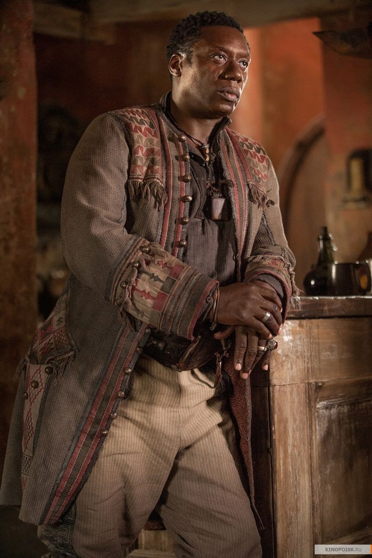 Mr. Scott - Hakeem Kae-Kazim in Black Sails Season 3 (TV series).
