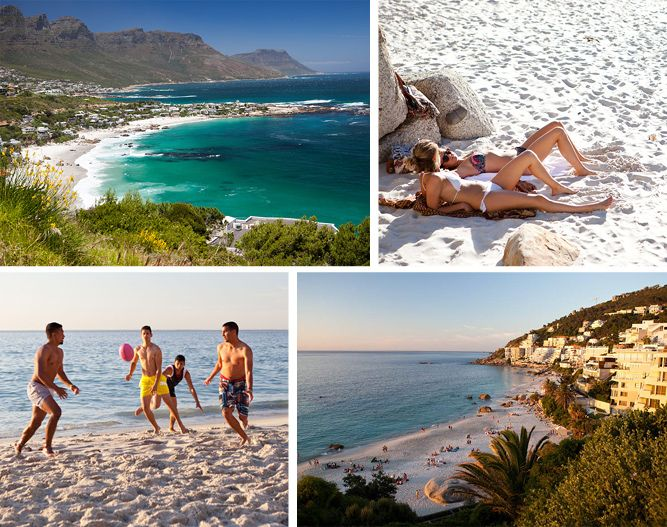 Popular Clifton 4th Beach in Cape Town is the playground for the rich & beautiful. #SouthAfrica #Africa #summer #beach