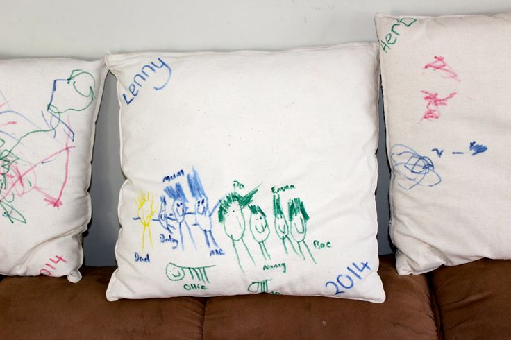 Personalised cushions promote a wonderful sense of belonging for the children in Family Day Care.
