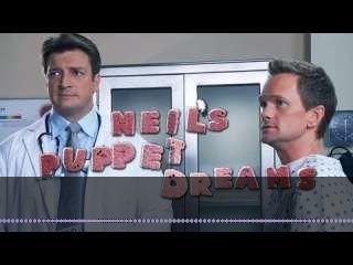 "Watch on Vuact.com: Neil Patrick Harris and Nathan Fillion in ""Neil's Puppet Dreams."""
