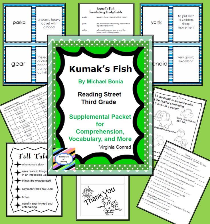 Kumak 39 s fish reading street supplemental packet for Kumak s fish