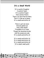25 best kids songs images on pinterest children songs kids songs its a small world lyrics printout publicscrutiny Images