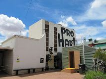 The Pro Hart gallery in Wyman Street