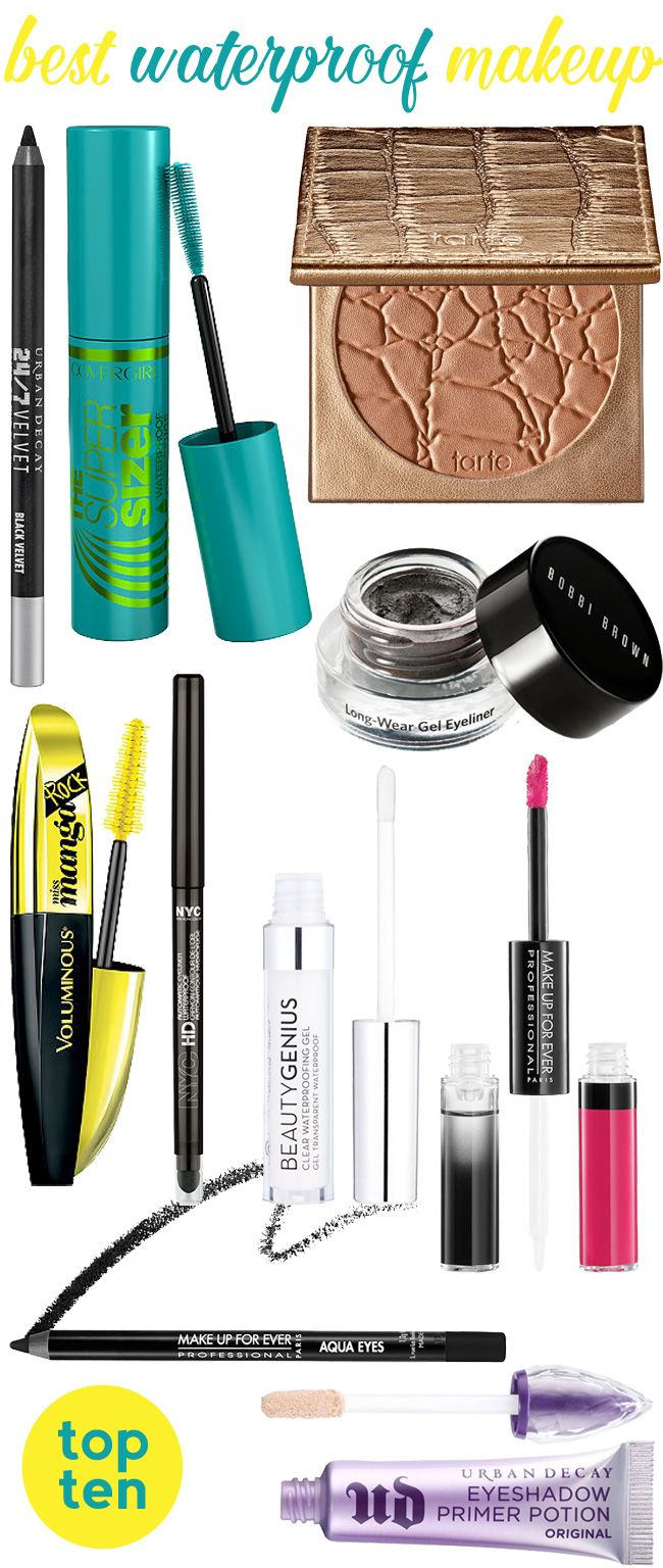 Best Waterproof Makeup for Summer