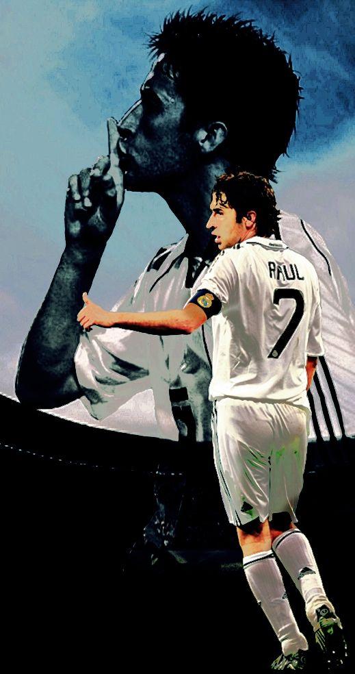 Raul Gonzalez & real madrid