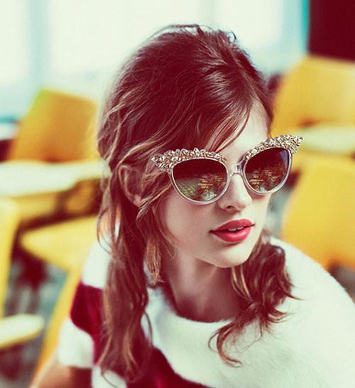 statement sunglasses.: Shades, Ray Bans, Fashion, Cat Eyes, Style, Cateye, Accessories, Hair, Sunglasses