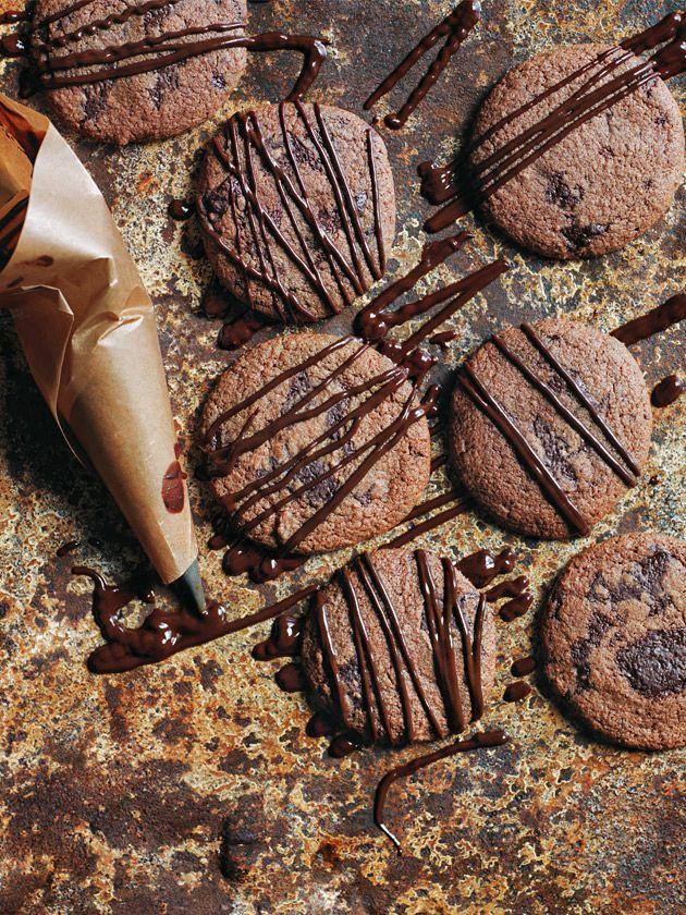 cacao fudge cookies