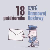 18 pazdziernika Dzien Listonosza = Dzien Darmowej Dostawy, #bezdroza